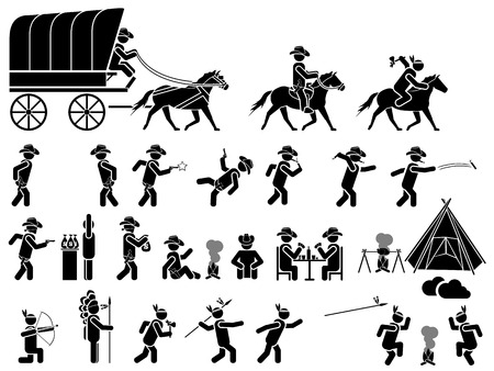ICON MAN FAR WEST Illustration