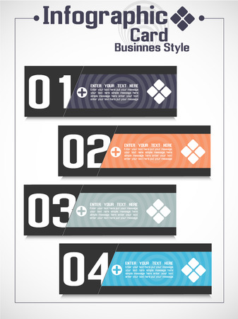 INFOGRAPHIC BUSINNES CARD STYLE 2