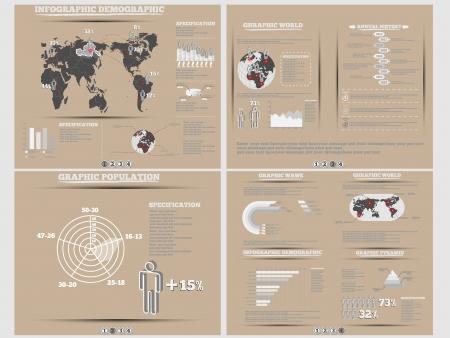 demographics: INFOGRAPHIC DEMOGRAPHICS WEBSITE BROWN