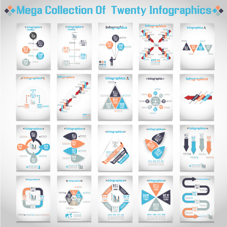MEGA COLLECTIONS OF TEN MODERN ORIGAMI BUSINESS STEB STYLE OPTIONS BANNER 3
