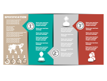 INFOGRAPHIC MODERN TEMPLATE 2   Illustration