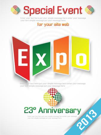 annual event: EXPO 2013 ANUAL PUBLICIDAD DE EVENTOS