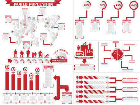 demographics: INFOGRAPHIC DEMOGRAPHICS 4  RED