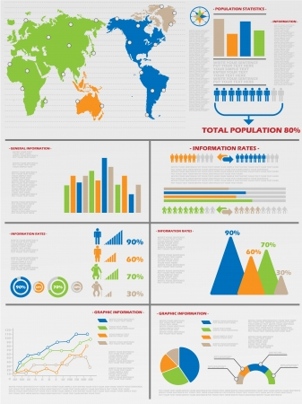 INFOGRAPHIC DEMOGRAPHICS 6 Illustration