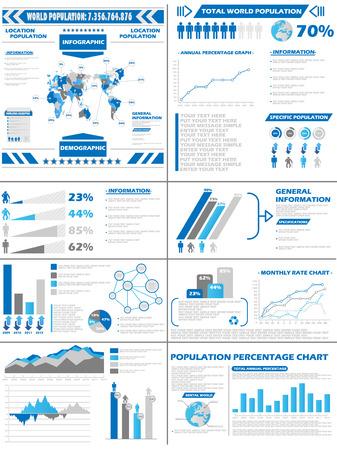 demographics: INFOGRAPHIC DEMOGRAPHICS  POPULATION Illustration
