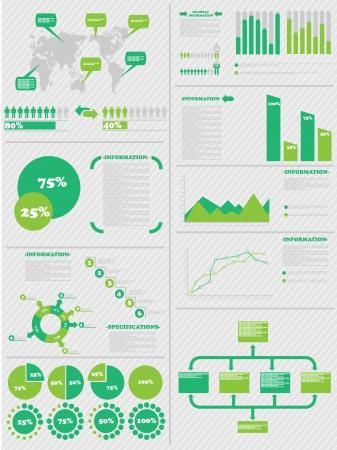 demographics: INFOGRAPHIC DEMOGRAPHICS 5 GREEN