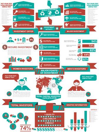 demographics: INFOGRAPHIC DEMOGRAPHICS BUSINESS RED