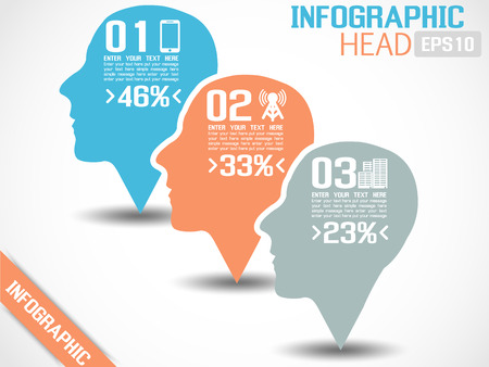 INFOGRAPHIC HEAD Illustration