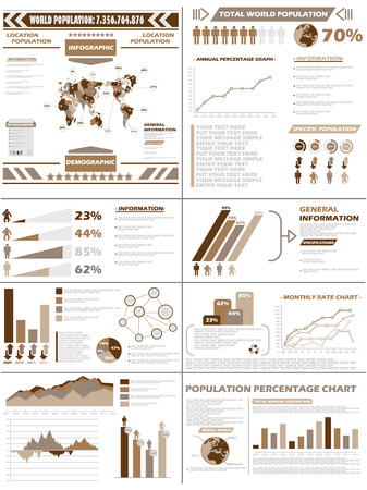 demographics: INFOGRAPHIC DEMOGRAPHICS  POPULATION BROWN