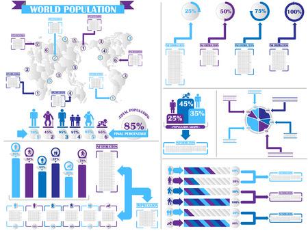demographics: INFOGRAPHIC DEMOGRAPHICS 4  PURPLE