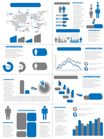 demographics: INFOGRAPHIC DEMOGRAPHICS NEW STYLE BLUE