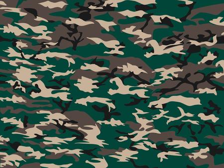 silhouette soldat: COUVERTURE CAMOUFLAGE VERT