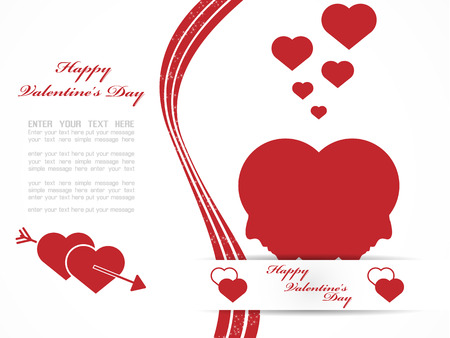 VALENTINES  DAY BACKGROUND 2 Vector