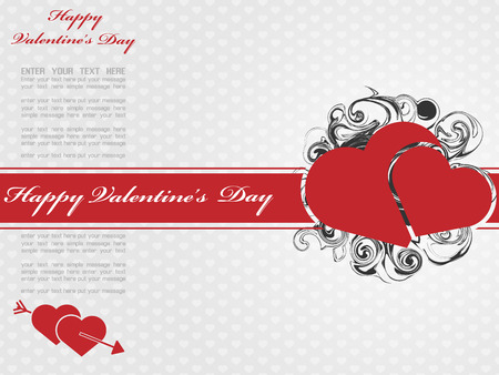 VALENTINES  DAY BACKGROUND 5 Vector