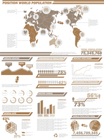 demographics: INFOGRAPHIC DEMOGRAPHICS  POPULATION 2BROWN