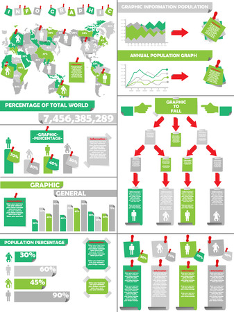 demographics: INFOGRAPHIC DEMOGRAPHICS  GREEN