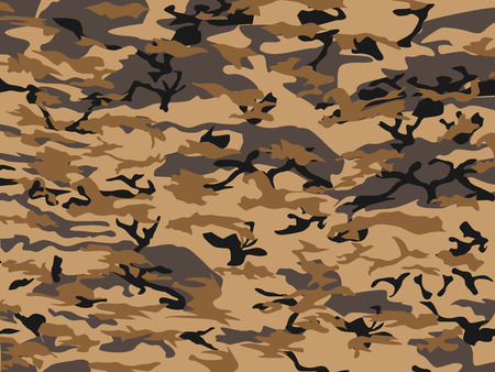CAMUFLAGE BROWN Vector