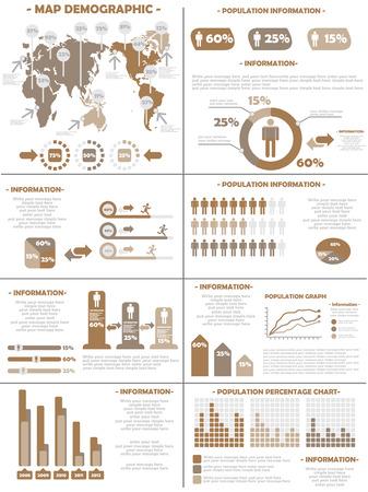 demographics: INFOGRAPHIC DEMOGRAPHICS  POPULATION 3 BROWN