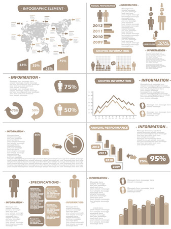 demographics: INFOGRAPHIC DEMOGRAPHICS NEW STYLE BROWN