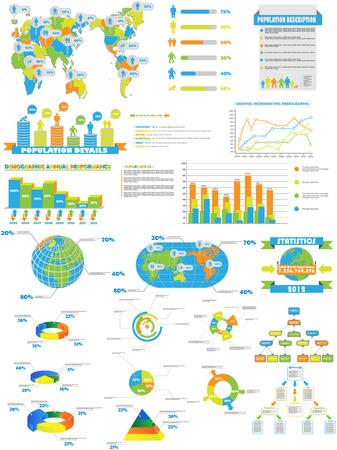 edizione straordinaria: Infografica WEB COLLECTION SPECIAL EDITION Vettoriali