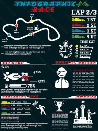 INFOGRAPHIC RACE
