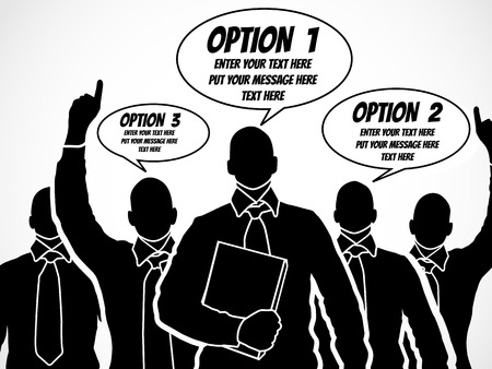 BUSINESSMAN OPTION TEMPLATE STEP RANKING 5