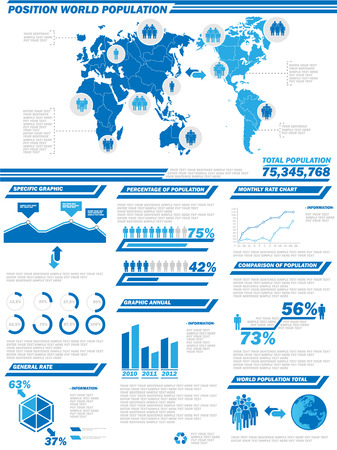 demographics: INFOGRAPHIC DEMOGRAPHICS  POPULATION 2 Illustration