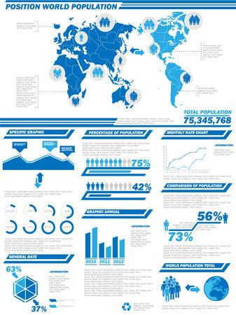 demographics: INFOGRAPHIC DEMOGRAPHICS  POPULATION 2 Illustration