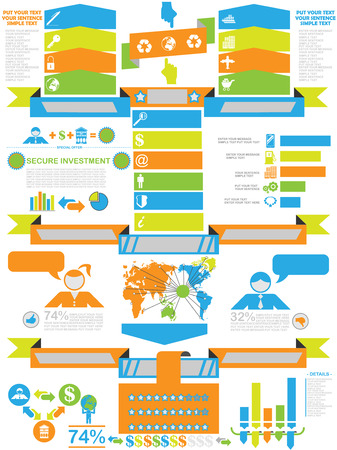 demographics: INFOGRAPHIC DEMOGRAPHICS BUSINESS TOY Illustration