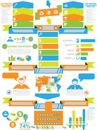 demographics: INFOGRAPHIC DEMOGRAPHICS BUSINESS TOY Illustration