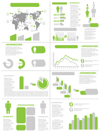 demographics: INFOGRAPHIC DEMOGRAPHICS NEW STYLE GREEN