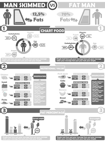 INFOGRAPHIC NUTRITION  GREY