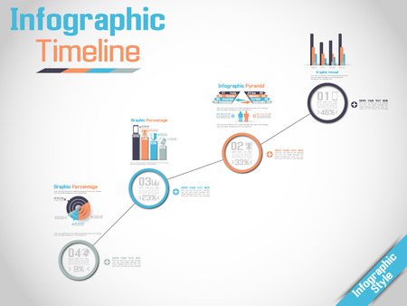 history icon: INFOGRAPHIC TIMELINE MODERN CONCEPT 3