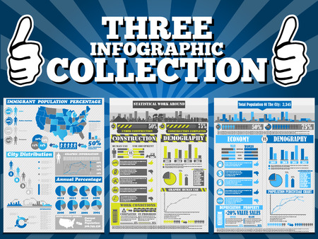 special edition: THREE INFOGRAPHIC COLLECTION SPECIAL EDITION