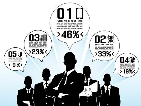 BUSINESSMAN CONCEPT OPTIONS