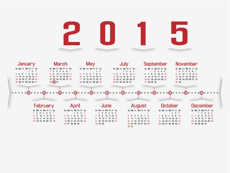 CALENDAR 2015 SECOND EDITION