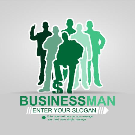 affair: CONCEPT BUSINESSMAN BACKGROUND GREEN AFFAIR 2015