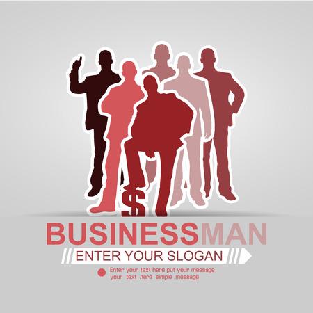 CONCEPT BUSINESSMAN BACKGROUND RED AFFAIR 2015