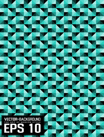 wather: ABSTRACT BACKGROUND PATTERN MOSAIC GREEN WATHER