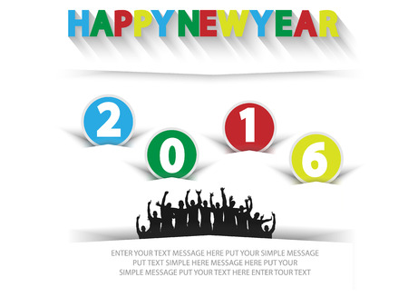 happy people: 2016 HAPPY NEW YEAR CELEBRATIONS WITH PEOPLE