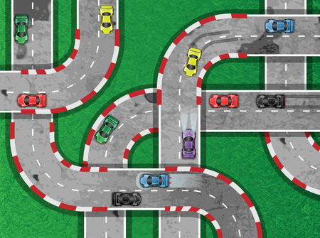 auto racing: AUTO RACING ON HIGHWAY