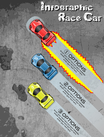 INFOGRAPHIC RACE CAR TUNING
