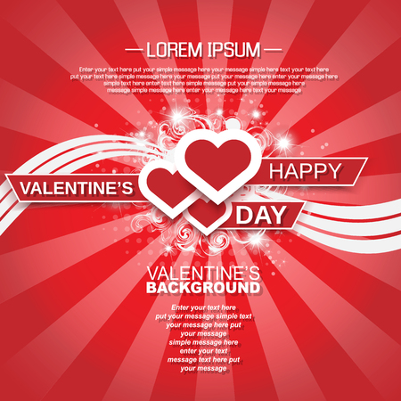 st valentin: VALENTINES BACKGROUND FOR WEB HEART AND STARS WHITH SHADOW