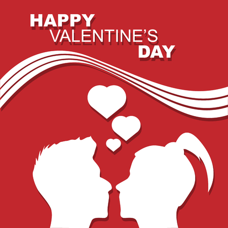 st valentin: HAPPY VALENTINES DAY PEOPLE IN LOVE