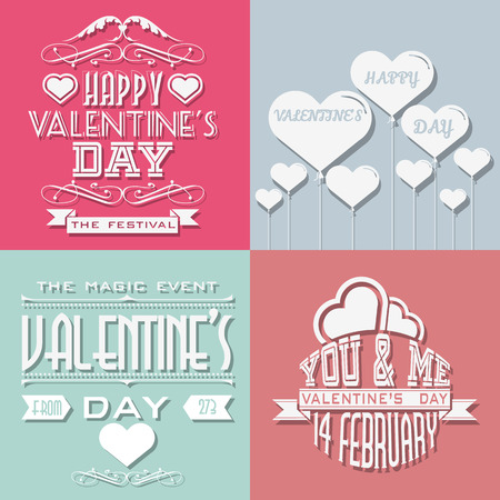 mage: VALENTINES DAY TYPOGRAPHY OTHER WRITTEN RETRO STYLE VINTAGE