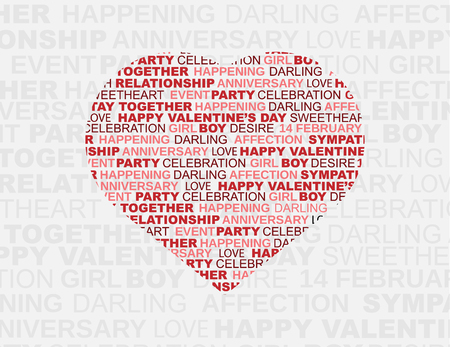st valentin: VALENTINES BACKGROUND HEART AND DECORATION TYPOGRAPHY
