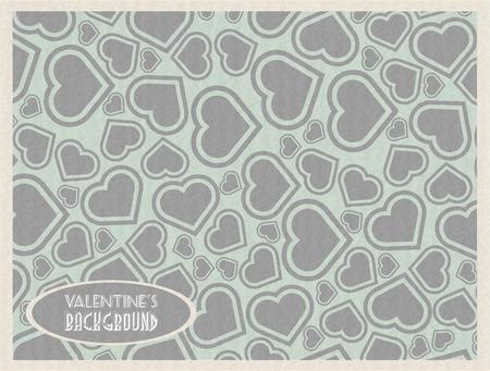 st valentin: VALENTINES DAY BAKGROUND HEART RETRO VINTAGE HOLD PAPER