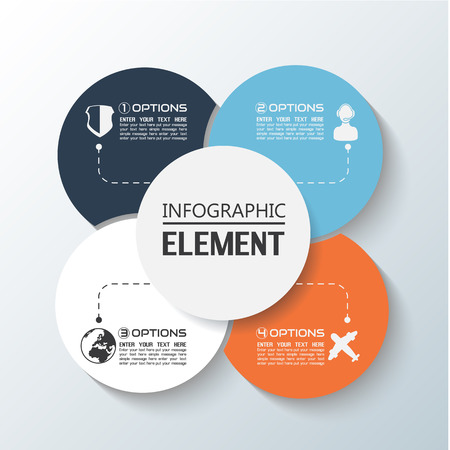 rims: ELEMENT FOR INFOGRAPHIC CHART TEMPLATE GEOMETRIC FIGURE RIMS STACKED