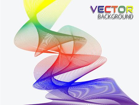rainbow: RAINBOW RIBBON EFFECT Illustration