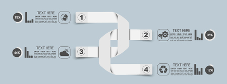 stiker: STIKER TEMPLATE OPTION NUMBER BANNERS HORIZONTAL CUTOUT LINES CROSS SHAPED MAGNET WHITE Illustration